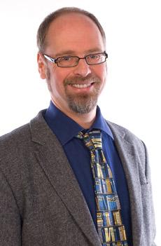 Dr. Carsten Kolbe-Weber, Portrait mit belesener Krawatte